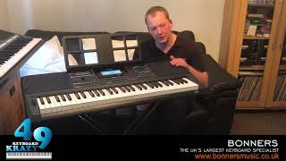 The New Casio CT-X5000 Keyboard Unboxing & Review - Tutorial
