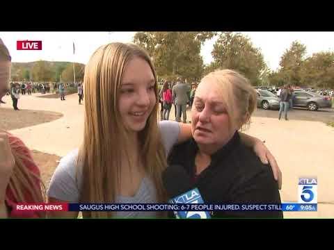 Parents Reunite With Children After Shooting at Saugus High in Santa Clarita