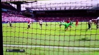 Alberto Moreno volley Fifa 15