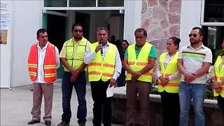Inauguran rehabilitación de calle simbólica en San Jacinto Amilpas, Oaxaca.
