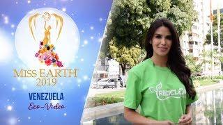 Michell Roxana Castellanos Miss Earth Venezuela 2019 Eco Video