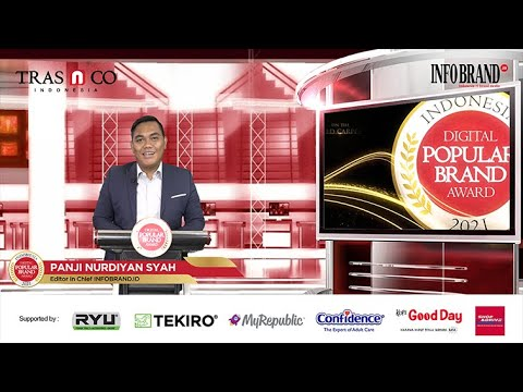 Sambutan Editor in Chief INFOBRAND Virtual Award Ceremony Indonesia Digital Popular Brand Award 2021