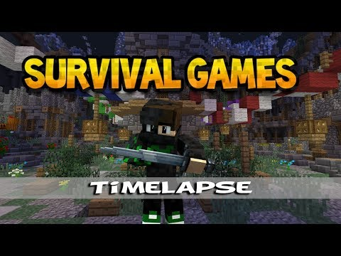 Minecraft Survival Games Timelapse