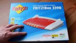 AVM Fritzbox 3390 Geek Oster Special :)