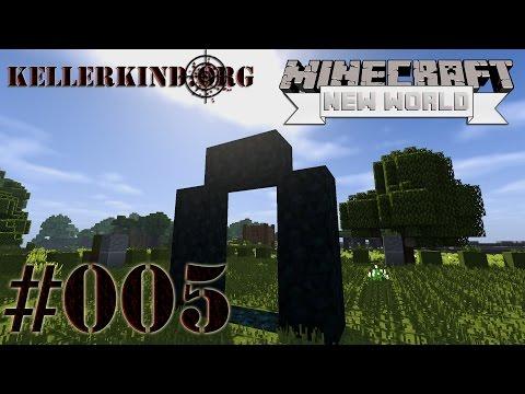 Minecraft: A New World #5 – EmKa's Burg und der Weg zum Nether ★ Let's Play Minecraft SMP [HD|60FPS]