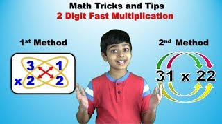 2 digits fast multiplication trick    Easy and fast way to learn   Shortcut trick to multiply