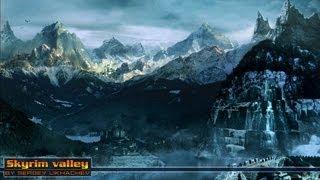 Skyrim Valley / Долина. Скайрим - Speedart Photoshop CS6 by BATKYA