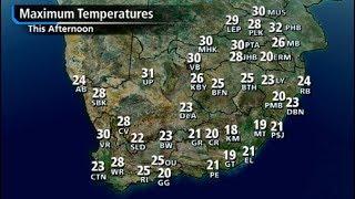 SA #Weather Forecast | 25 February 2018