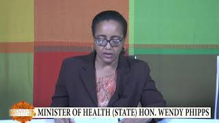 Address by hon Wendy Phipps on Covid 19 Cases in St Kitts & Nevis