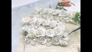 New Items in Stock in the store FOR SALE!! Paper Flowers, rhinestone trim, die