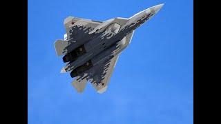 Российский истребитель Су-57 в Британии сочли «предупреждением о третьей мировой»