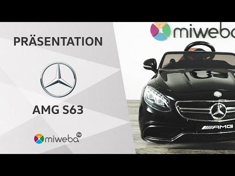 Präsentation - Kinder Elektroauto Mercedes S63 AMG