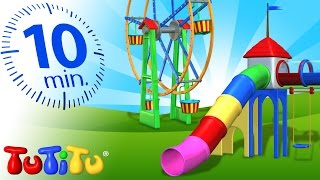 TuTiTu Specials  Playground Toys For Children  Carousel Ferris Wheel And More