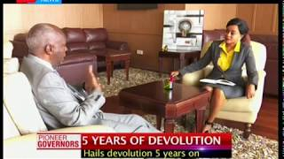 Pioneer Governors:5 years of devolution