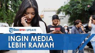 Seusai Diperiksa selama 6 Jam di Polda Metro Jaya, Siwi Sidi Ingin Media Lebih Ramah ke Dirinya