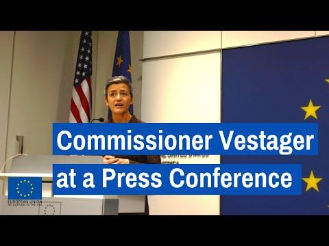Commissioner Margrethe Vestager Press Conference Washington, DC 13 April 2018