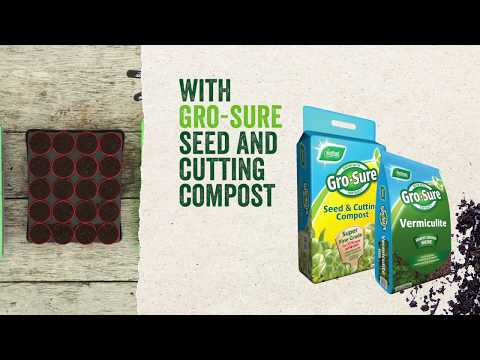 grosure seed and cutting compost pouch 10l Video