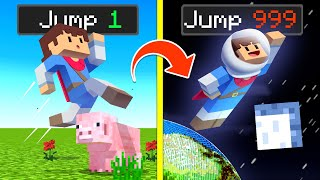 They Made EVERY JUMP MULTIPLY In Minecraft ...