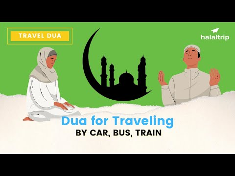 Dua | When Travelling on Plane, Car or Any Other Mode of Transport