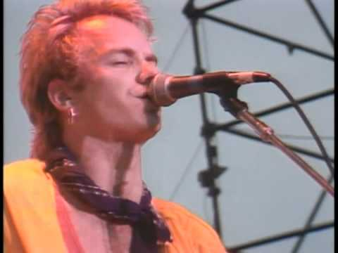 The Police - Hungry For You (J'aurais Toujours Faim De Toi - Gateshead '82)