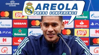 Club Brugge - Real Madrid : Alphonse Areola press conference