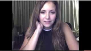 Nina Dobrev StageIt live chat [ 7/21/2014 ]