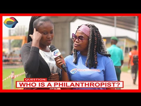 Who is a PHILANTHROPIST? | Street Quiz | Funny Videos | Funny African Videos | African Comedy |