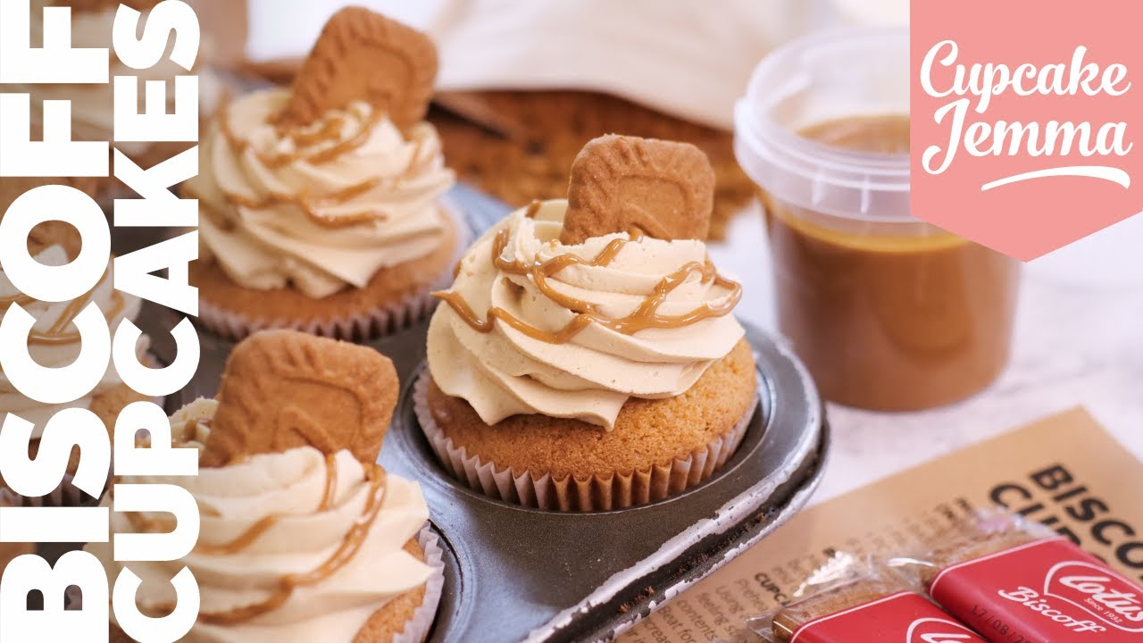 Bake Biscoff Cupcakes at Home. Right NOW! Cupcake Jemma