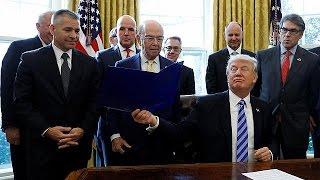 Трамп затвердив дозвіл на спорудження нафтогону Keystone XL