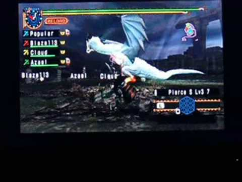Popular Hunting Vol  1 - The Fall of the White Dragon! (Monster Hunter 2 Freedom)