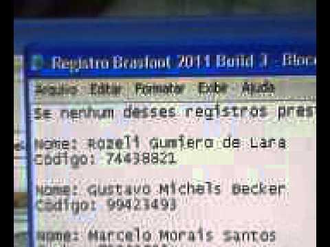 registro do brasfoot 2012 gratis