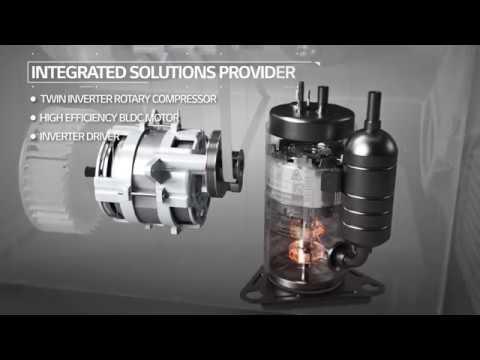 LG Twin Inverter Rotary Compressor