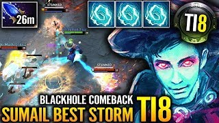 EG vs Mineski #TI8 Game 2 - UNBELIEVABLE COMEBACK! SumaiL Electric Black Hole Dota 2
