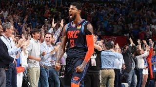 Paul George Game Winner Vs Rockets! Westbrook Trip Dub! 2018-19 NBA Season
