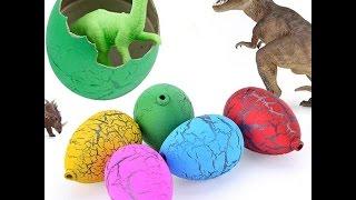 Яйцо с динозавром, детская мего игрушка, unpacking gifts, как развлечь ребенка