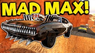 Racing & Crashing The New Mad Max Car! - Wreckfest Update Gameplay