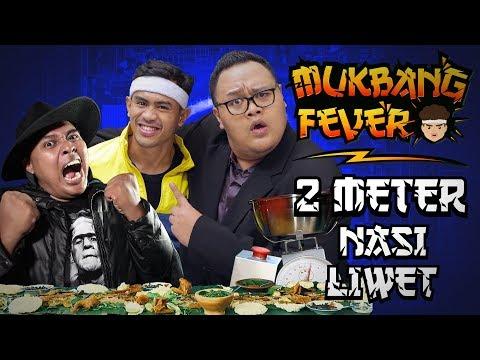 Video GILA!! 2 METER NASI LIWET ABIS! TANBOY KUN & REZA CHANDIKA FT. BLACK BM BOIS | Mukbang Fever #6