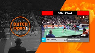 Marcus Ellis & Lauren Smith vs Robin Tabeling & Selena Piek - Dutch Open 2019 XD SF