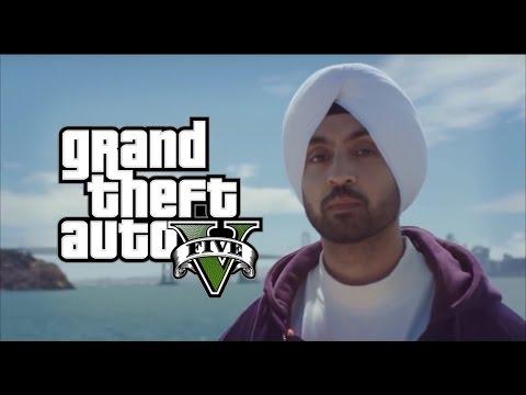 Laembadgini   Diljit Dosanjh   GTA V   Latest Punjabi Song 2016