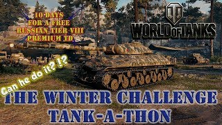 World of Tanks Live Stream Winter Challenge Accepted Day 3