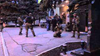 Краматорск, захват отдела МВД