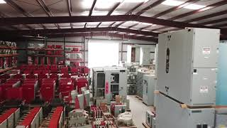 Drone Soars Through Switchgear Warehouse