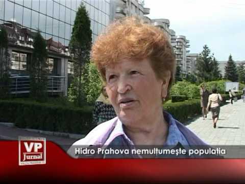 Hidro Prahova nemulţumeşte populaţia