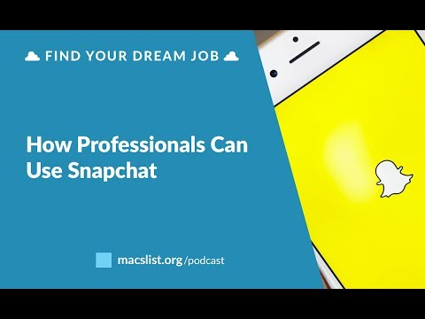 BONUS: How Can Professionals Use Snapchat?