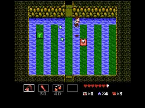 Let's Play StarTropics - 8 - Mike isn't shellfish at all