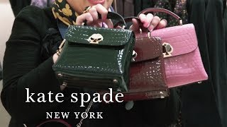 New Fall Handbags: Margaux, Polly And Romy Bags | Talking Shop | Kate Spade New York
