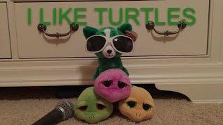 """""""I like turtles"""" Beanie Boo Music Video"""