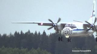 """АН-30 RA-30078 """"Открытое Небо"""" Посадка Кубинка"""