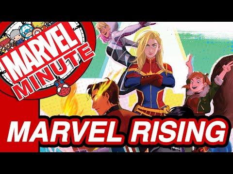 Marvel Rising & More! - The Marvel Minute 2017