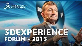 Bernard Charlès - Dassault Systèmes Vision - Business Experience Platform (3DX Forum 2013)